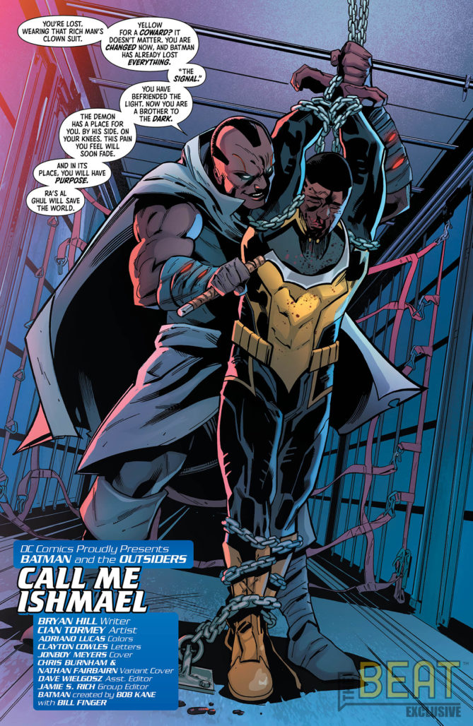 Batman and the Outsiders #7 Interior