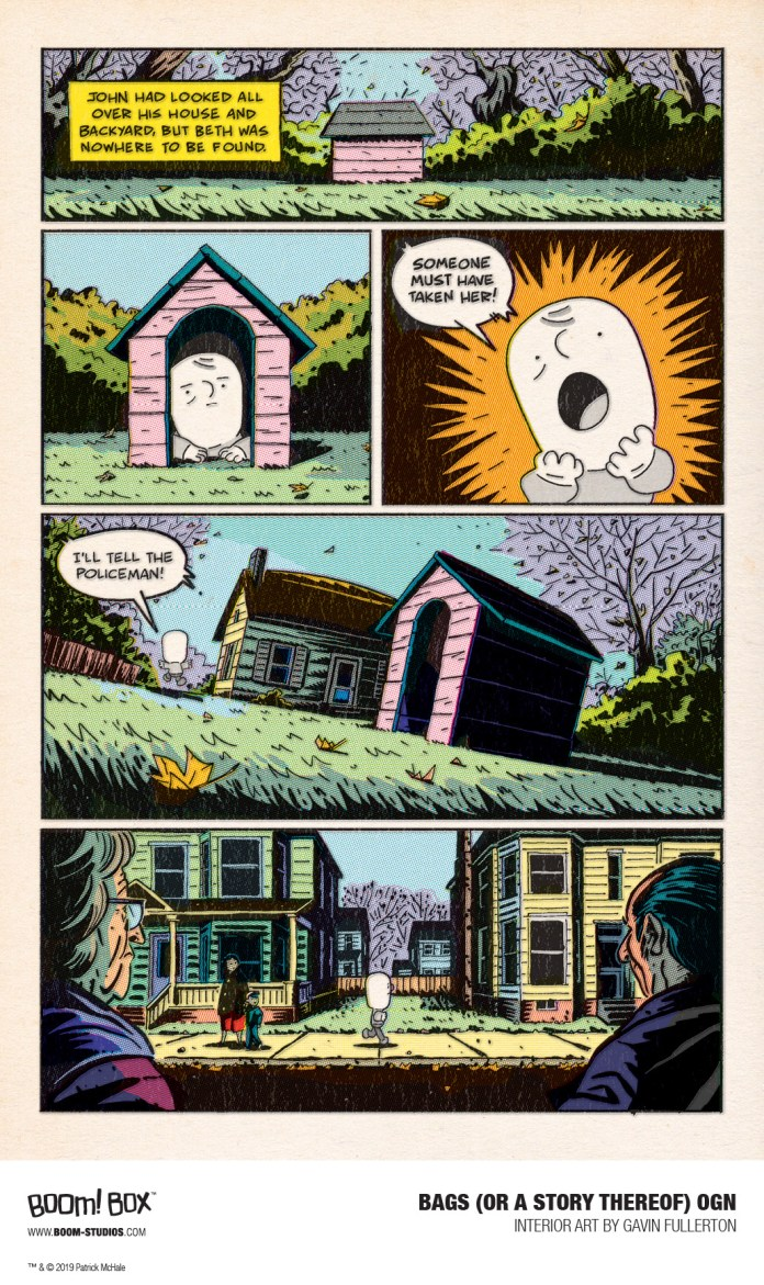 BAGS (OR A STORY THEREOF) created by Patrick McHale