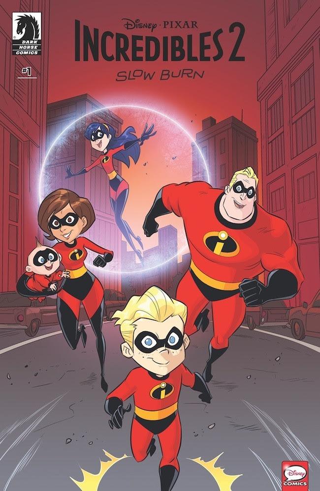 Disney/Pixar The Incredibles 2: Slow Burn #1