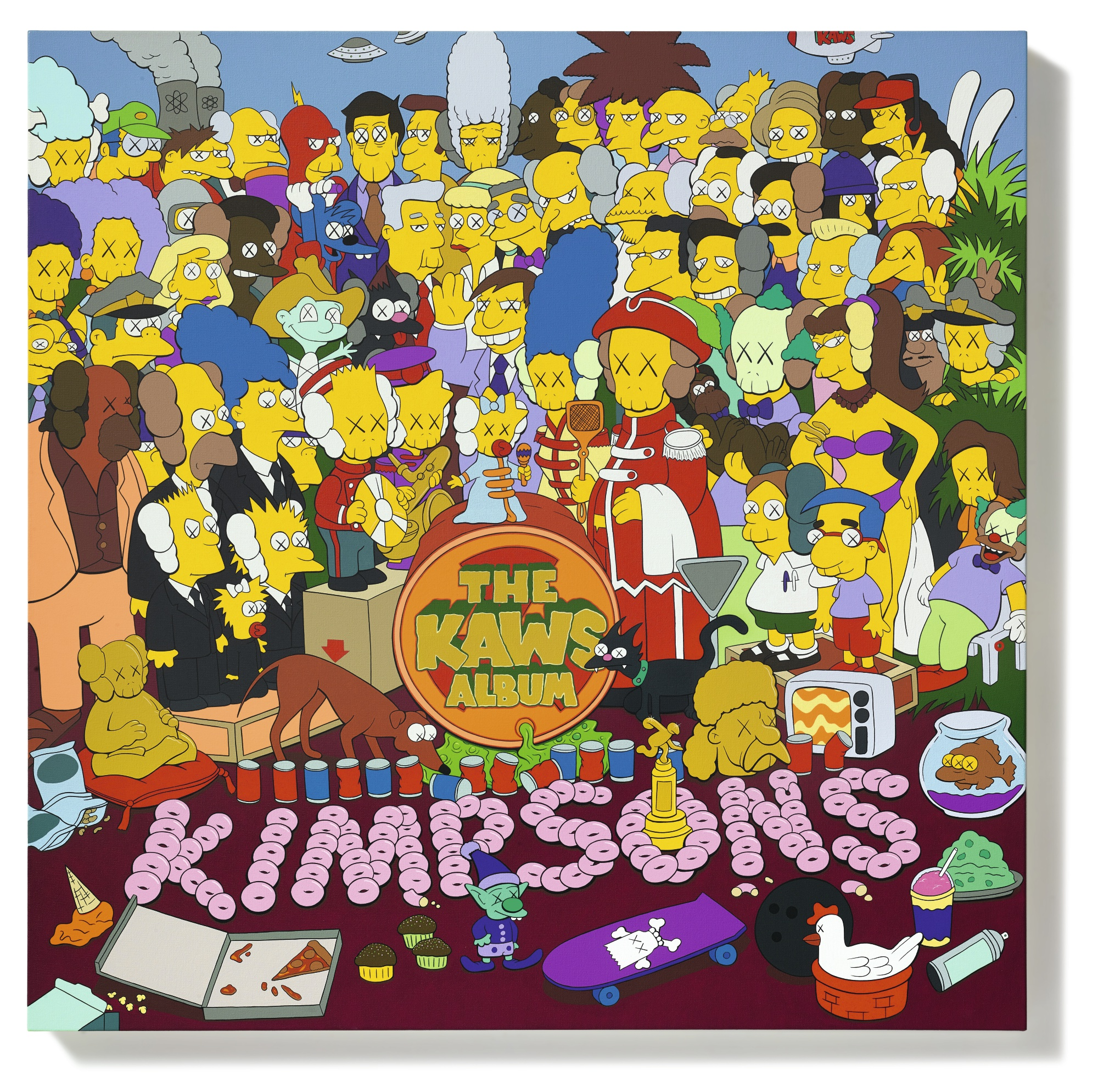 KAWS made $14 million from Bill Morrison art, and Morrison