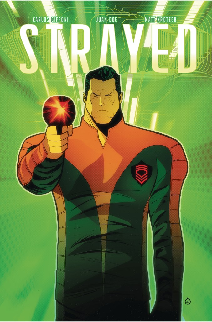 STRAYED #4 Cover A by Juan Doe