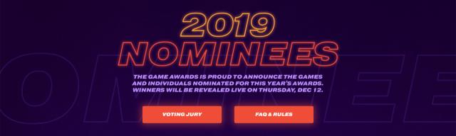 DEATH STRANDING, RESIDENT EVIL 2 lead 2019 Game Award Nominees