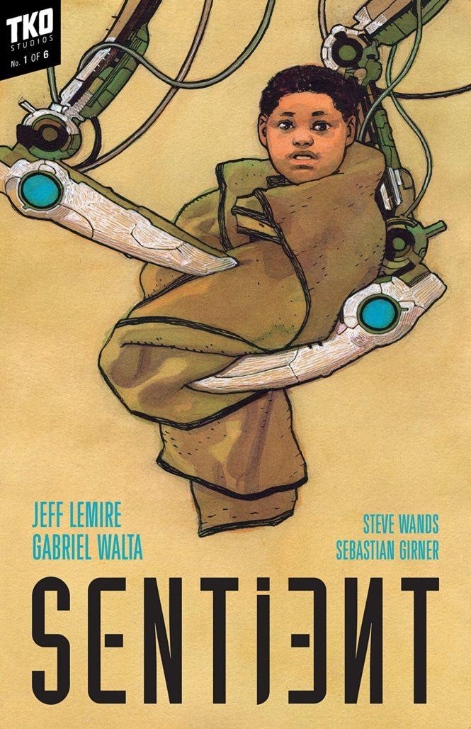 Sentient TKO Comics cover