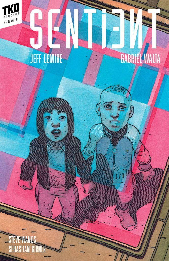 Sentient TKO Comics Gabriel Walta