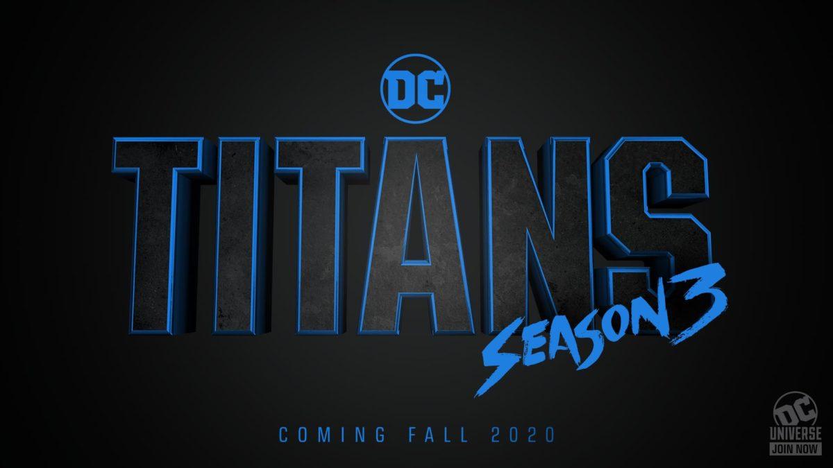 Titans Schedule 2020.Dc Universe Announces Titans Season 3 Coming Fall 2020 The