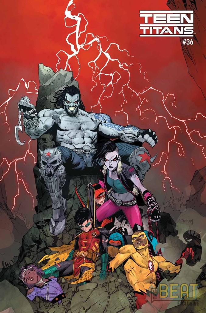 Teen Titans #36 Cover