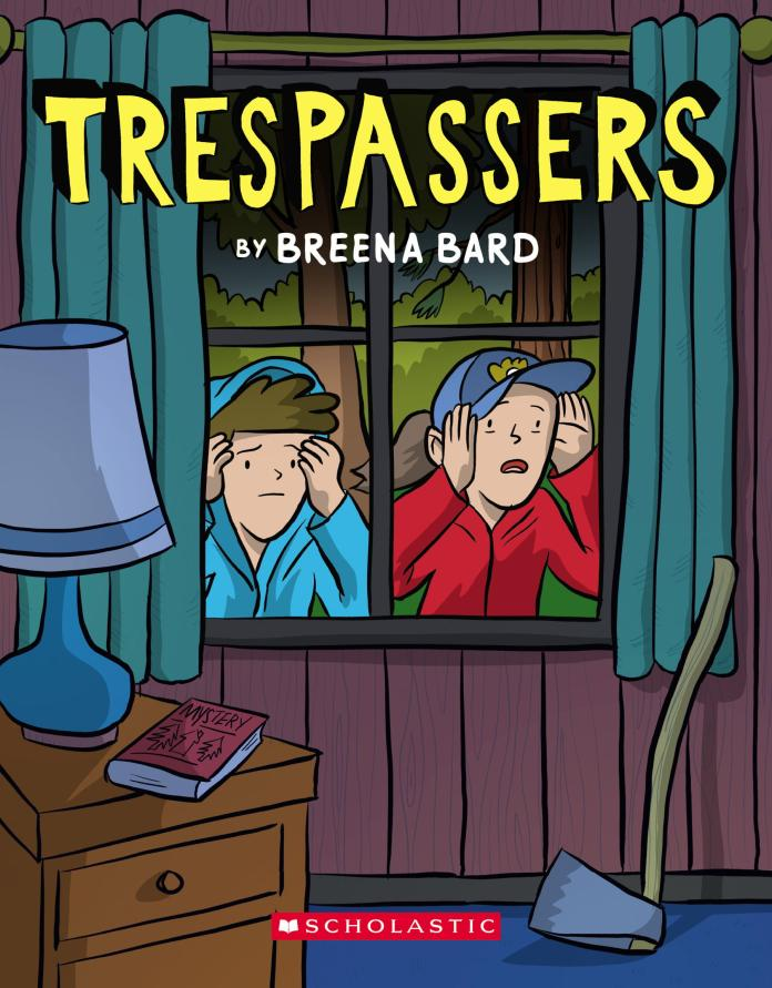 Trespassers by breena bard cover