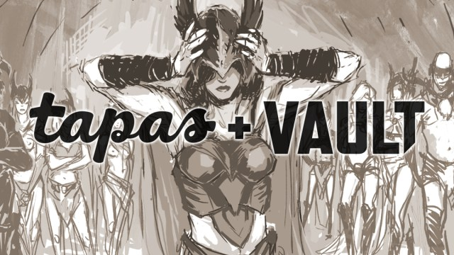 Tapas and Vault team up to adapt four titles for mobile