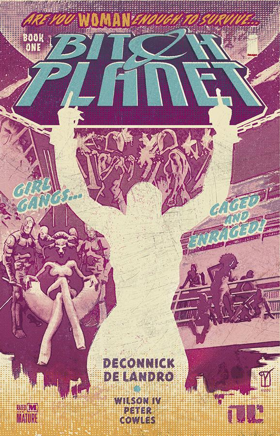 50 queer comics: Bitch Planet