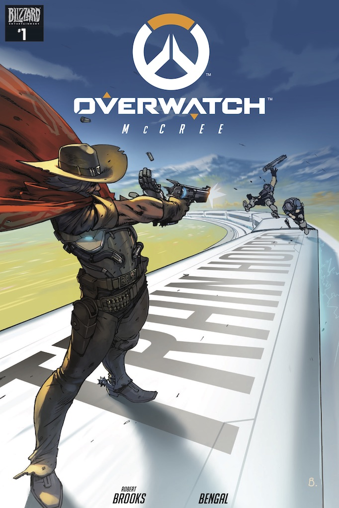 overwatch superhero game comic