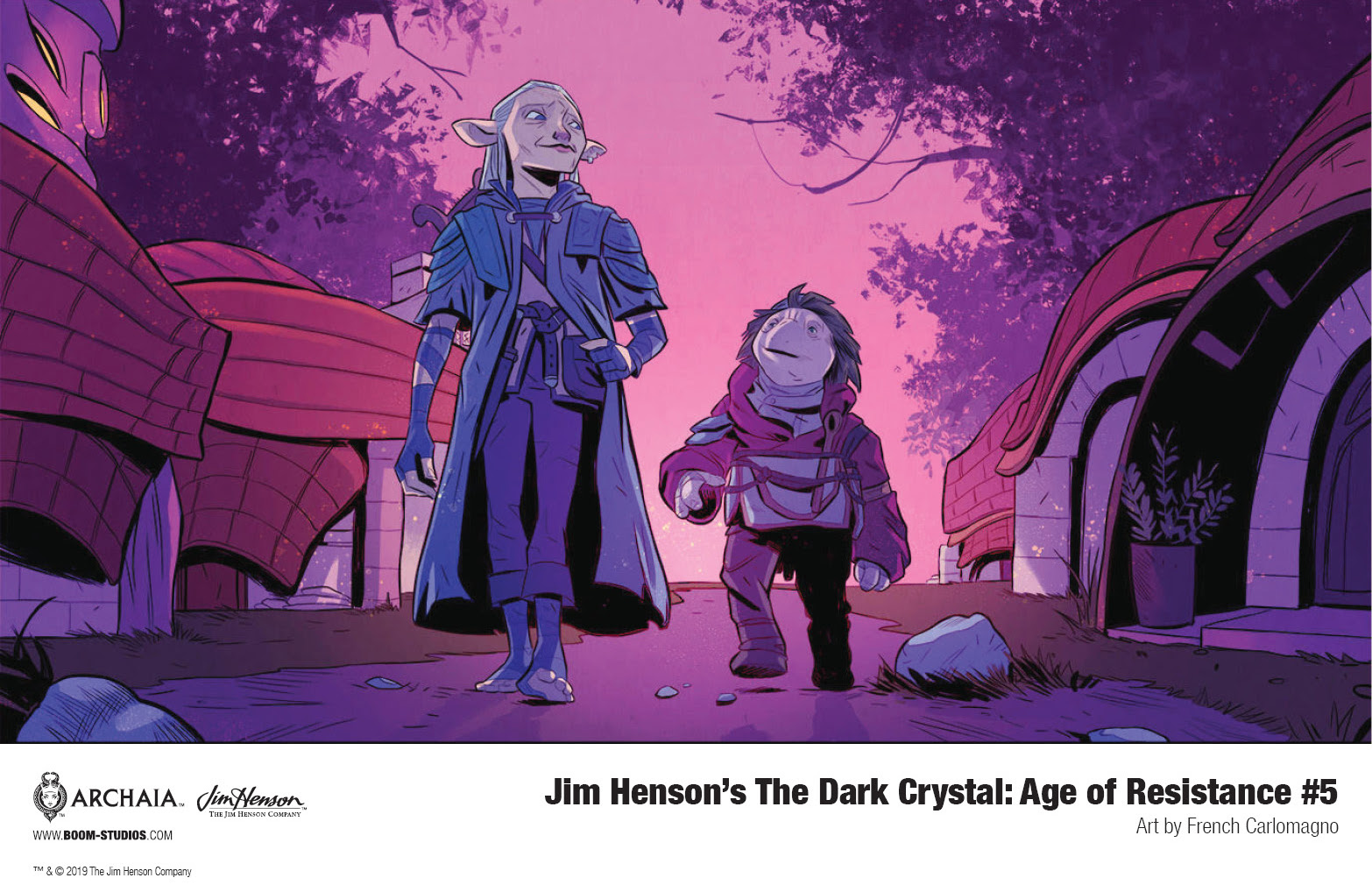 Jim Henson's The Dark Crystal: Age of Resistance #5