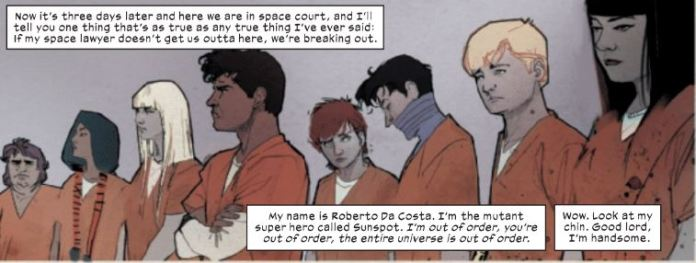 New Mutants Space Court