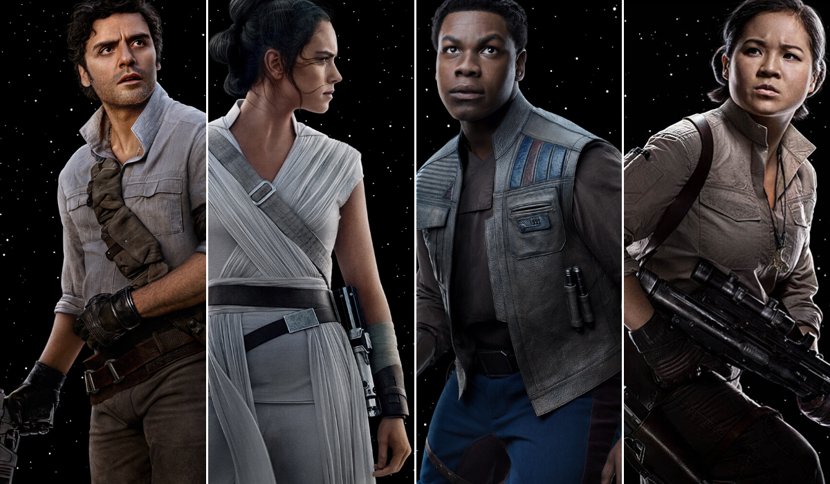 You Have To See These Epic Star Wars Rise Of The Skywalker Character Posters The Beat
