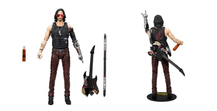 Keanu Reeves gets the McFarlane Toys treatment with CYBERPUNK 2077 action figures