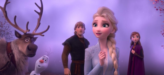 Box Office: FROZEN II wins third consecutive weekend despite dismal post-Thansgiving