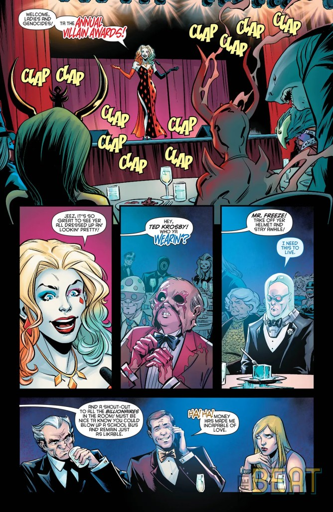 Harley Quinn's Villain of the Year Interior