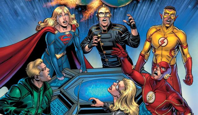 The CW's CRISIS ON INFINITE EARTHS Arrowverse crossover gets a comic tie-in