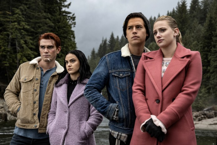 Jason Blossom's viking funeral on Riverdale