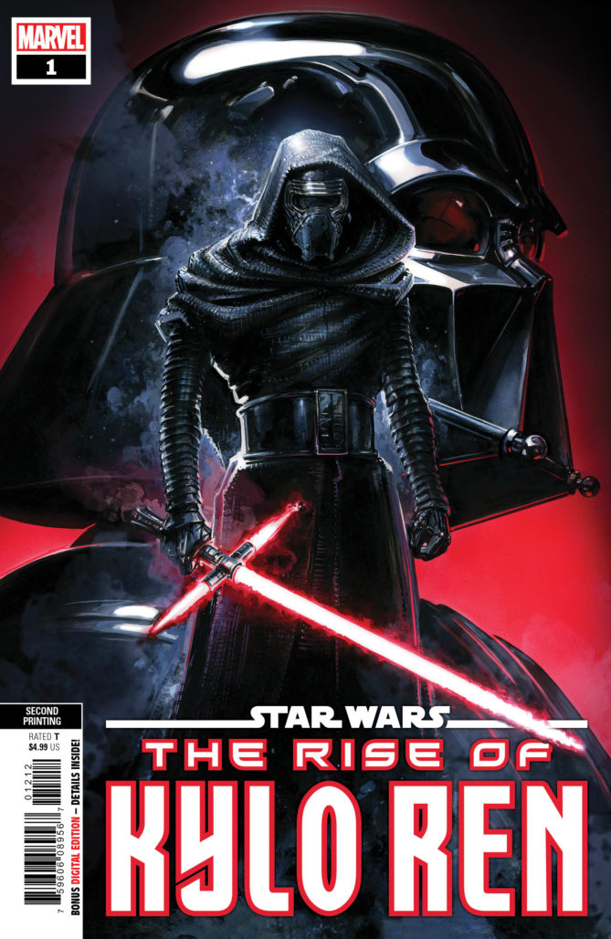 Star Wars: The Rise of Kylo Ren #1 (Second Printing)