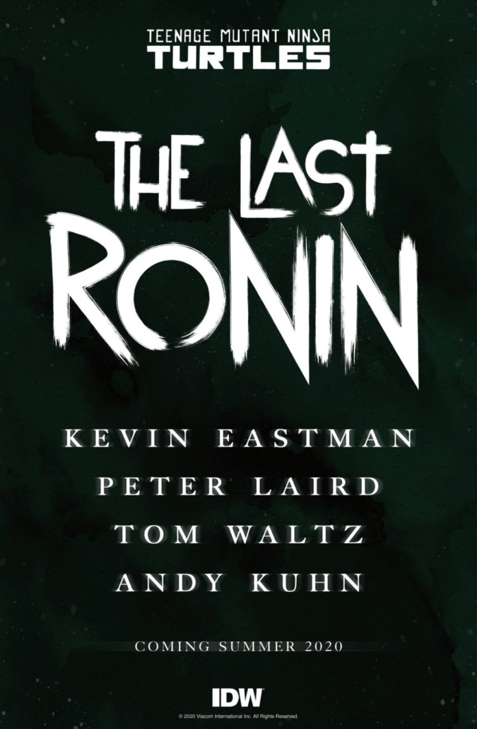 The Last Ronin Brings Peter Laird And Kevin Eastman Together For