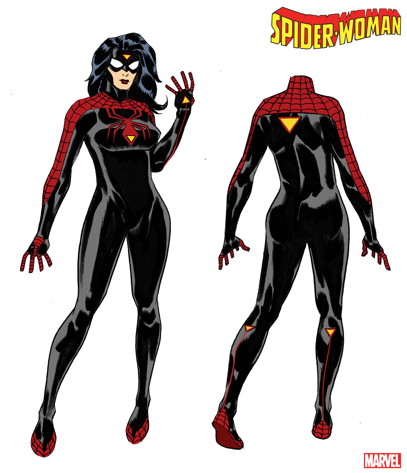 Jessica Drew new costume