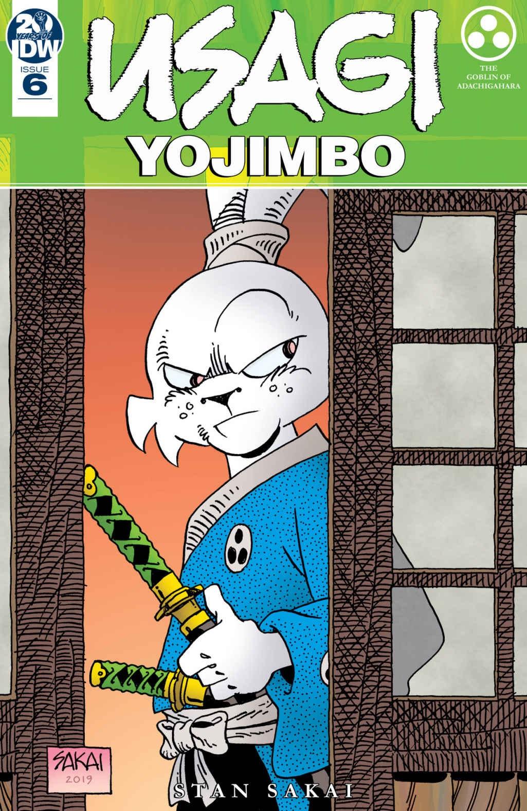 Best Comics of 2019: Usagi Yojimbo