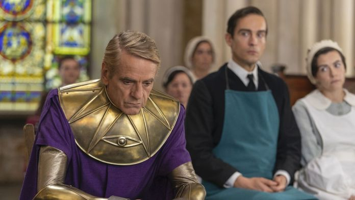 Ozymandias faces trial on Watchmen