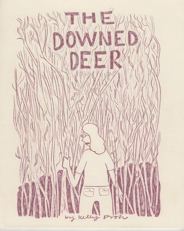the downed deer