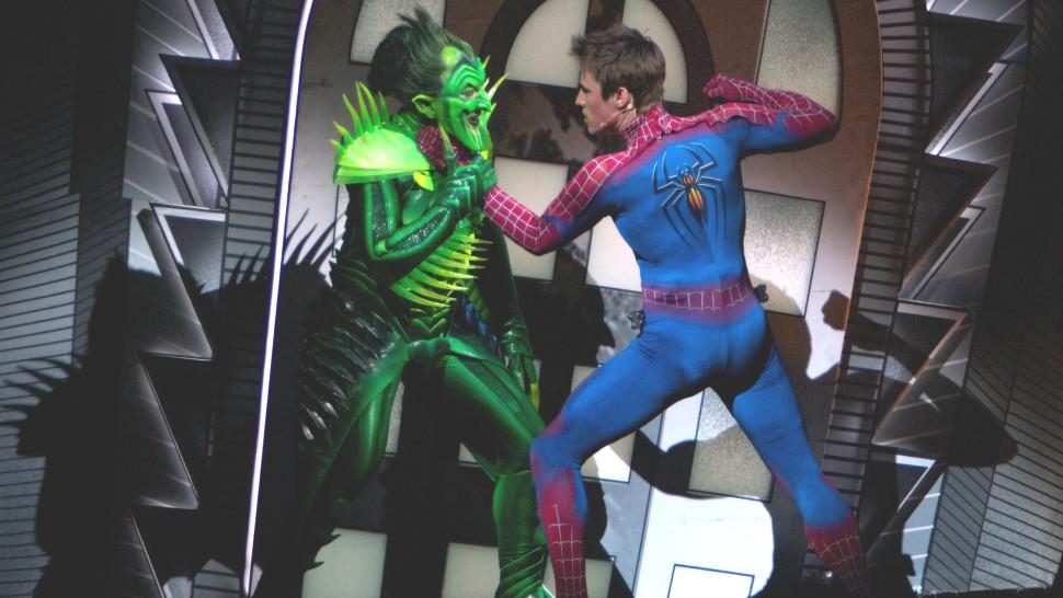 Spider-Man: Turn Off the Dark production still