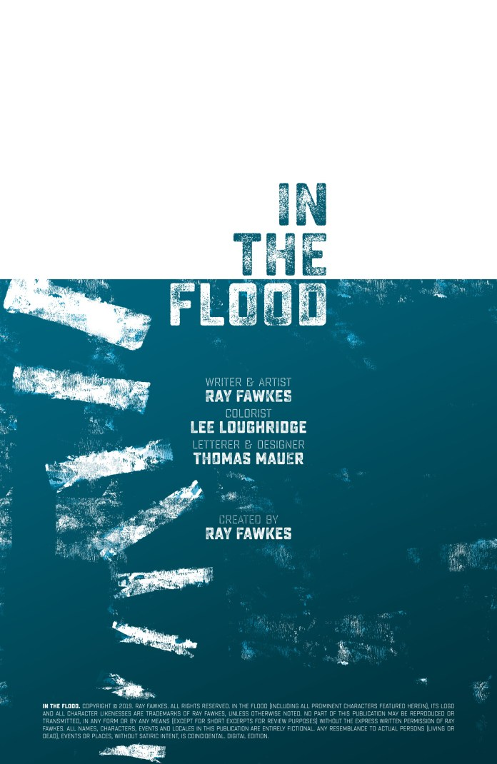 in the flood