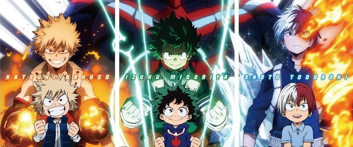 My Hero Academia Heroes Rising Doubles Its Theater Presence The Beat