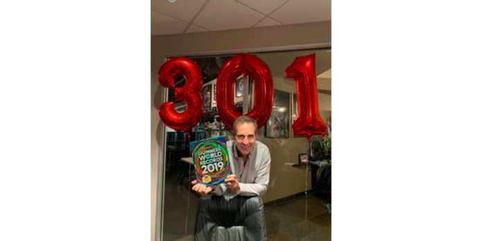 Todd McFarlane and the Guinness Book of World Records