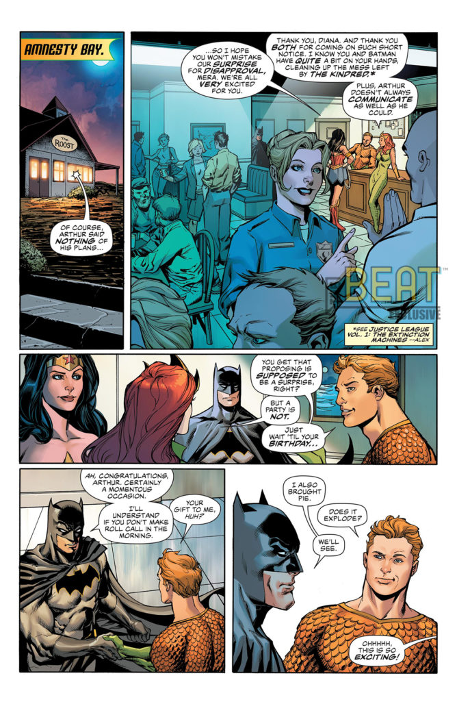 Aquaman #56 Interior