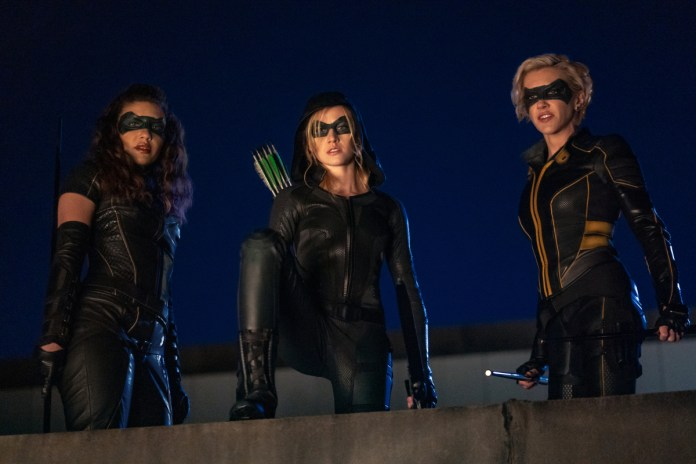 From ARROW S8E9; Photo: The CW.