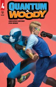 Valiant April 2020 solicits: Quantum & Woody #4