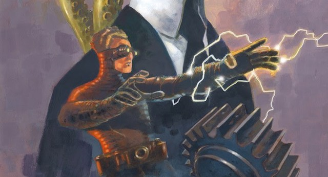 New THE WORLD OF BLACK HAMMER hardcover collects a pair of tie-in miniseries