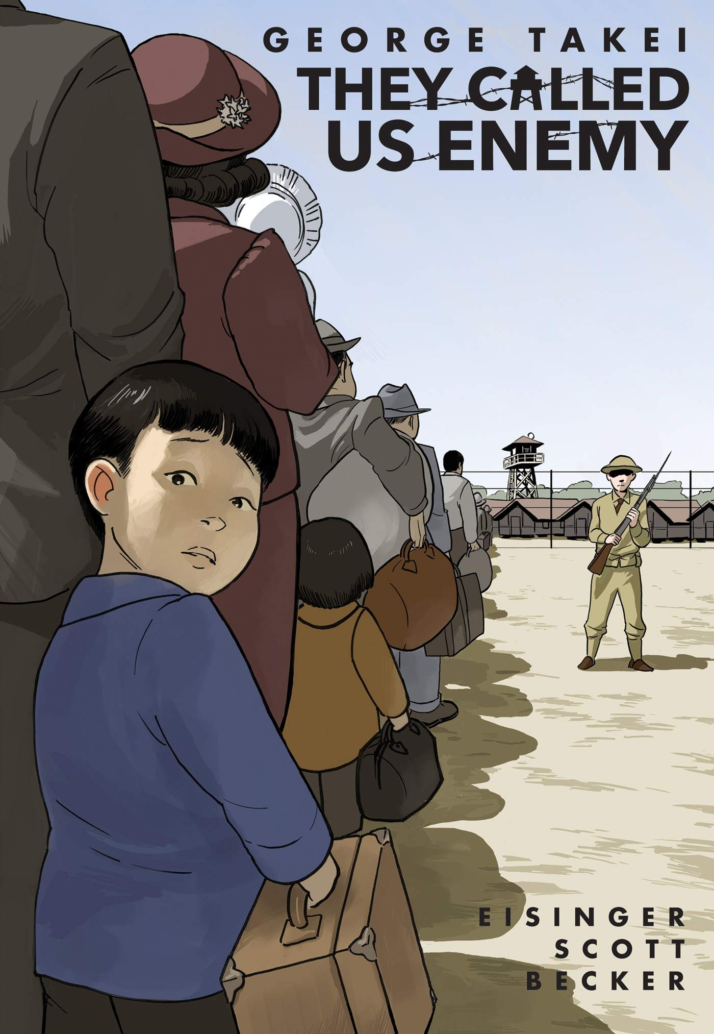 2020 Great Graphic Novels for Teens: They Called Us Enemy