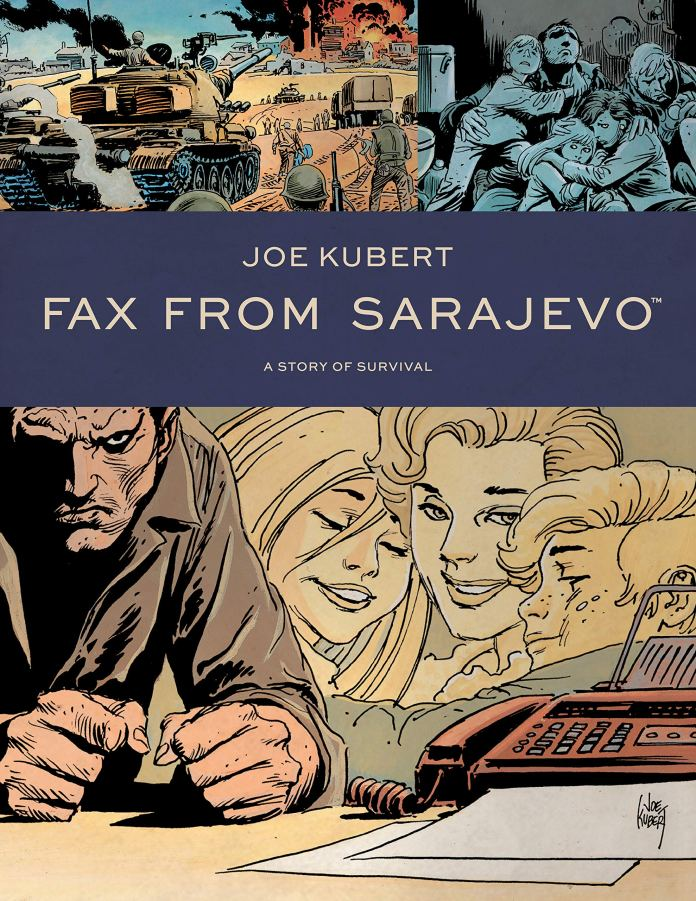 Graphic Novels for Winter 2020: Fax from Sarajevo