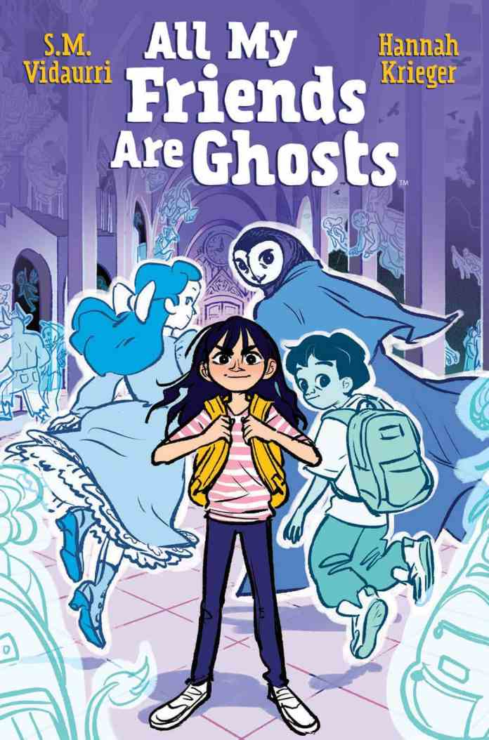 Graphic Novels for Winter 2020: All My Friends Are Ghosts