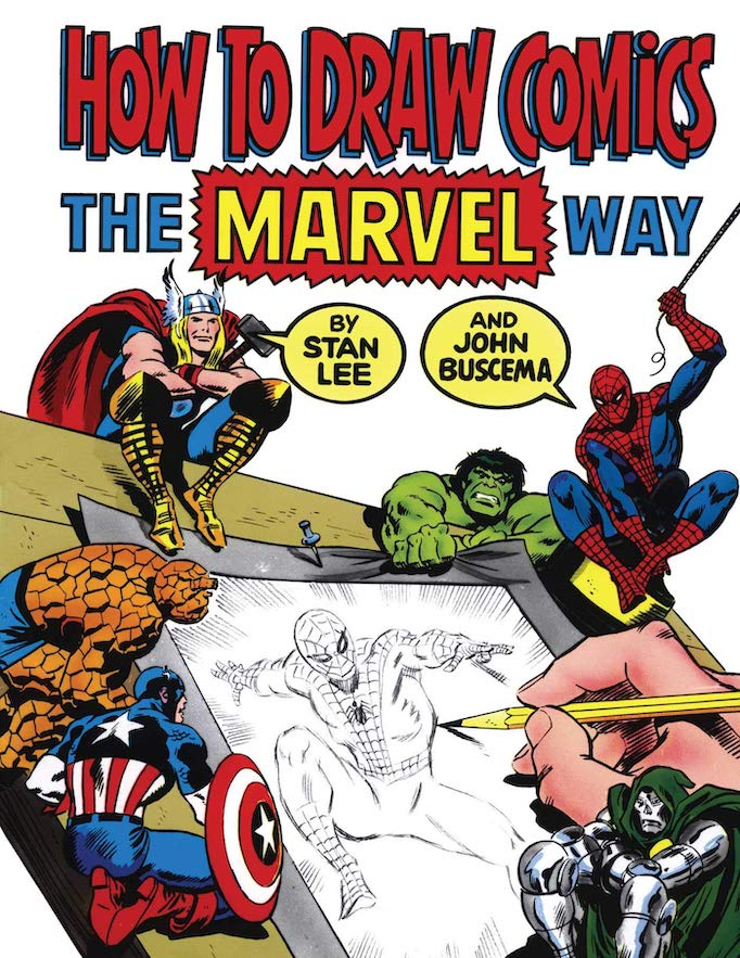 making comics guides draw comics marvel way