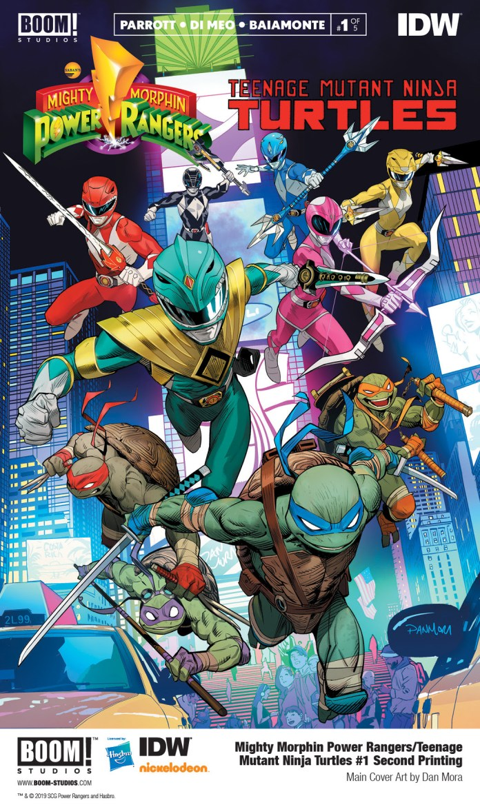 Mighty Morphin Power Rangers/Teenage Mutant Ninja Turtles#1