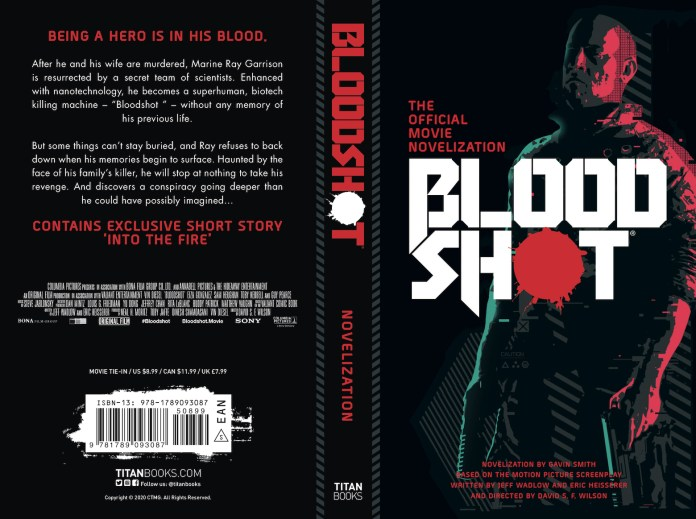 Bloodshot movie novelization