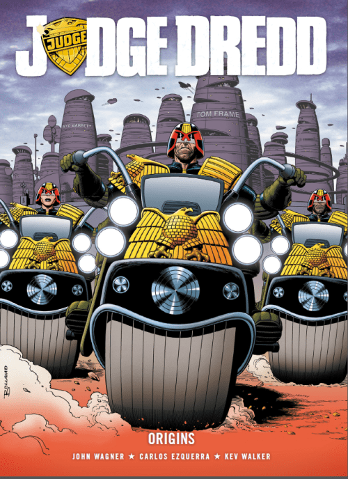 Judge Dredd Origins cover