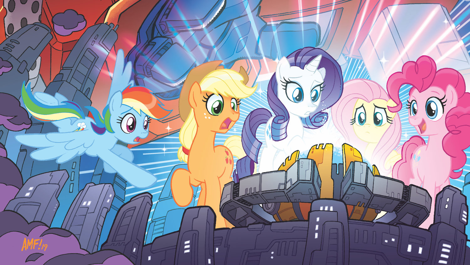 - MY LITTLE PONY/TRANSFORMERS Brings Autobots & Decepticons Into The