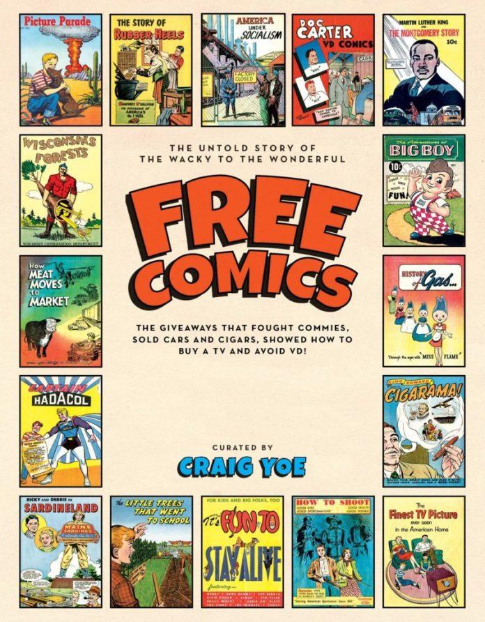 Free Comics Cover