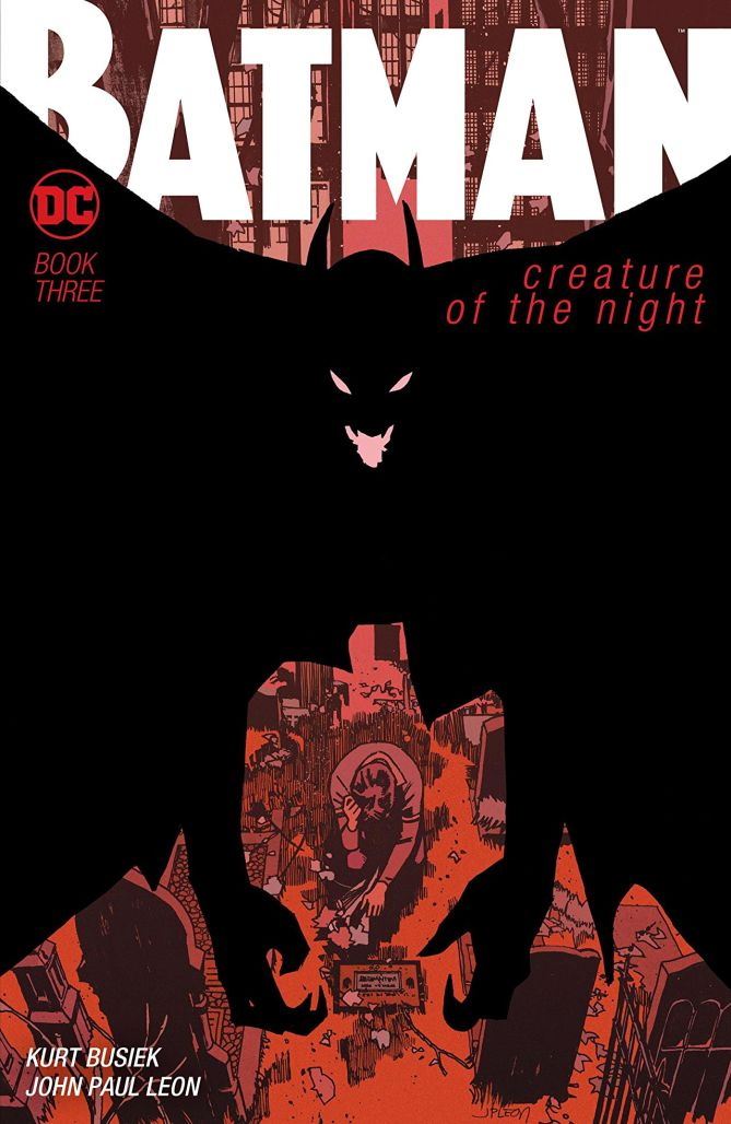 batman creature of the night review cover