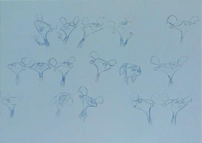 genndy tartakovsky dee dee sketch