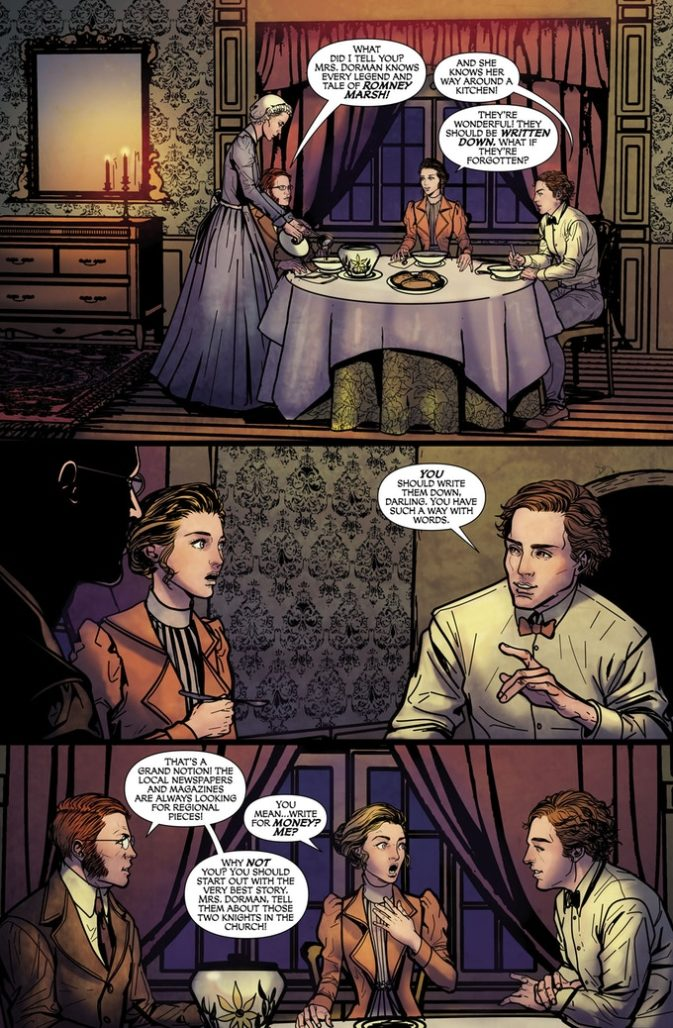 From MARY SHELLEY PRESENTS #2; Art by Amelia Woo