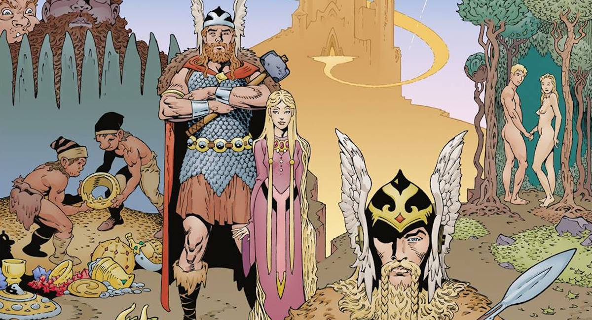 Interview: P. Craig Russell on adapting Neil Gaiman's NORSE MYTHOLOGY - The Beat