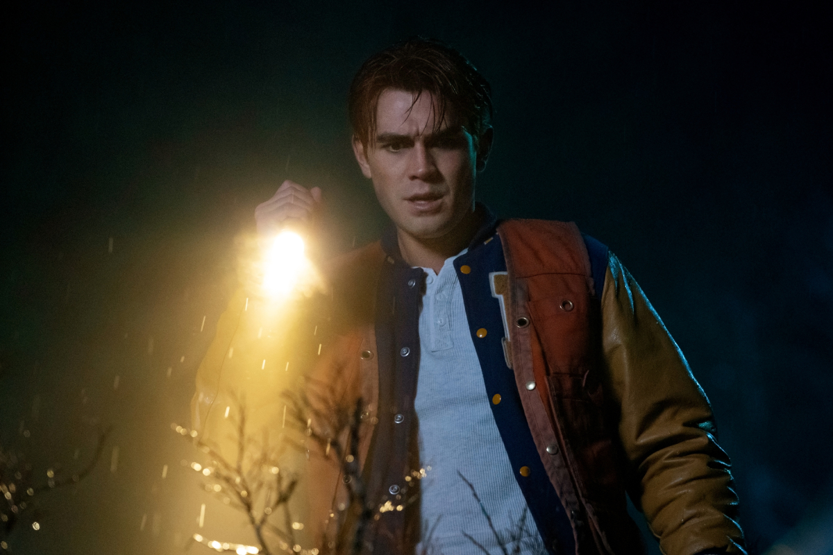 Archie leads the Riverdale search party for Jughead